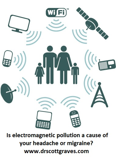 electromagnetic pollution, migraines, and headaches