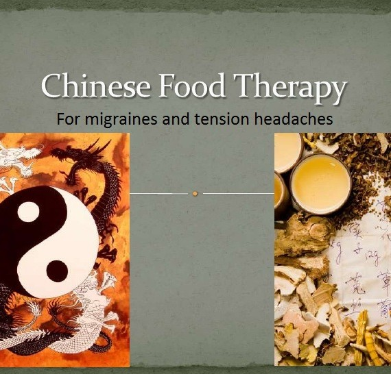 migraine - chinese food therapy